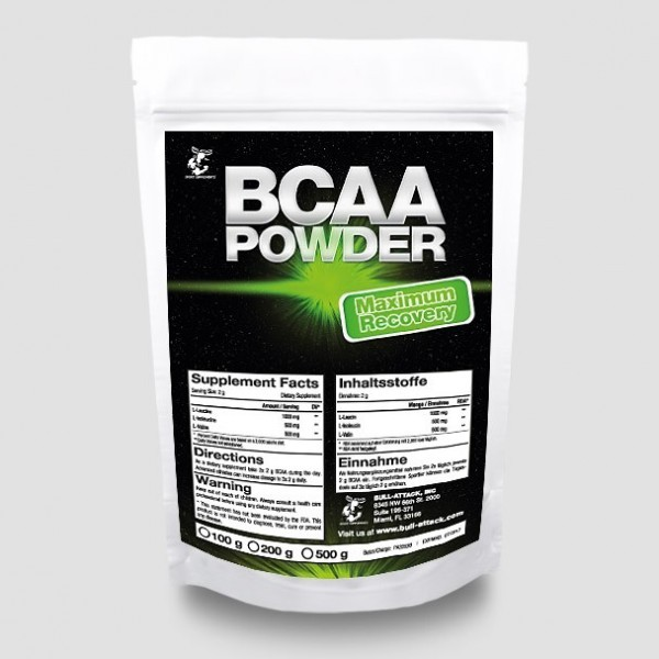 Bull Attack BCAA - Pulver