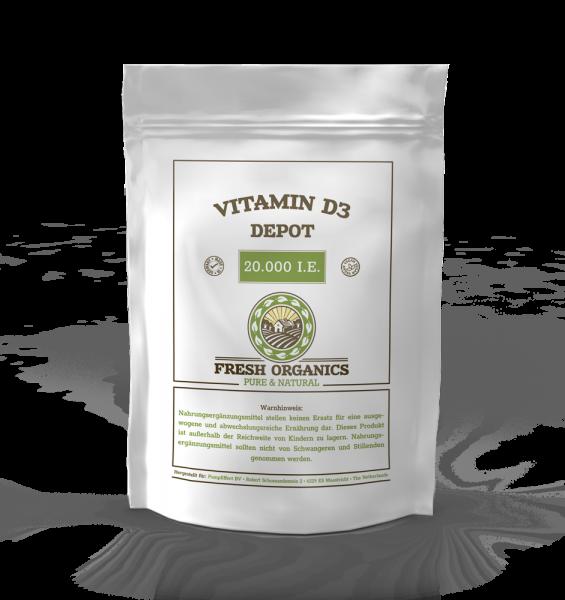 Vitamin D3 von Bull-Attack.com deckt Ihren Bedarf zum Schuzu Ihres Immunsystems