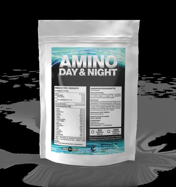 Amino Day & Night - Aminosäuren von Bull Attack
