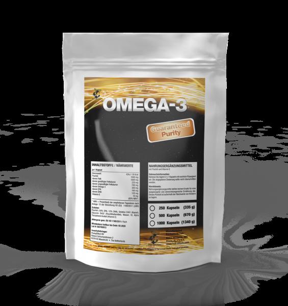 Omega 3 Fischölapseln von Body Attack